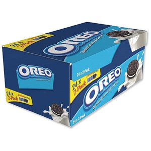 Image of Oreo Mini Biscuits / 24 x Pack 2 / Order over £249