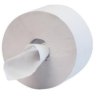 Image of Hostess Midi Jumbo 400 Toilet Tissue / Single Ply / 12 Rolls