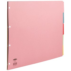 Image of Concord Subject Dividers / Oblong / 5-Part / A3