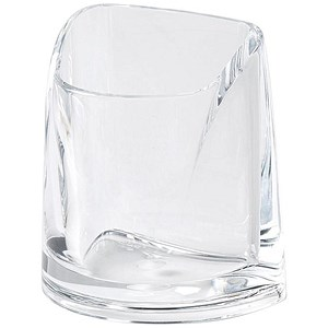 Image of Rexel Nimbus Large Acrylic Pencil Cup - Clear