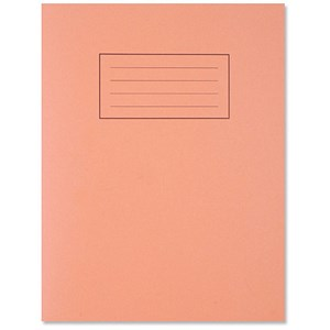 Image of Silvine 5mm Squares Exercise Book / 229x178mm / 80 Pages / Orange / Pack of 10