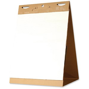 Image of Bi-Office Tabletop Flipchart Pad / Self-Stick / 635x762mm / Pack of 2