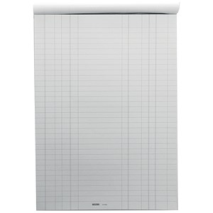 Image of Vestry Survey & Engineering Pad / A4 / Double Bill Headed with Feints / 100 Sheets