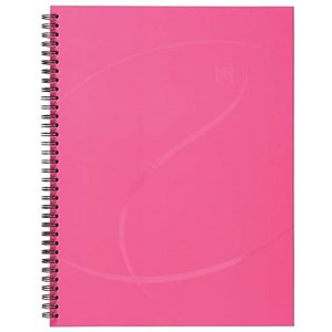 Image of Oxford Beauty Wirebound Notebook / A4 / Ruled / 140 Pages / Pack of 5