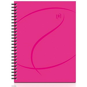 Image of Oxford Beauty Wirebound Notebook / A5 / Ruled / 140 Pages / Pack of 5