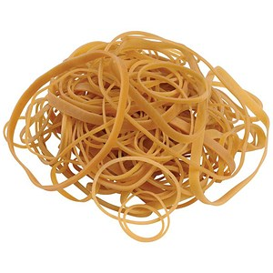 Image of 5 Star Rubber Bands / Assorted Sizes / 454g Bag