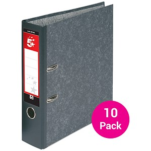 Image of 5 Star A4 Lever Arch Files / Cloudy Grey / Pack of 10
