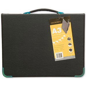 Image of Goldline Presentation Case / A3 / Black