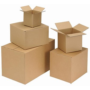 Image of Single Wall Packing Carton / 203x203x203mm / Pack of 25