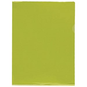 Image of Rexel Nyrex Cut Flush Folders / A4 / Yellow / Pack of 25