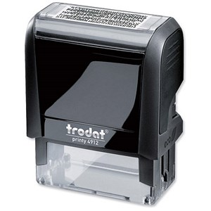 Image of Trodat Self-inking Identity Protection Stamp - Blacks Out Text