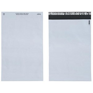 Image of Keepsafe SuperStrong Polythene Envelopes / D4 / W260xH380mm / Peel & Seal / Opaque / Pack of 100