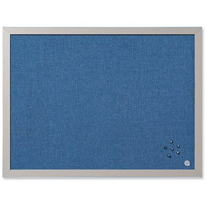 Image of BiSilque Notice Board / Framed / W600xH450 / Bluebell