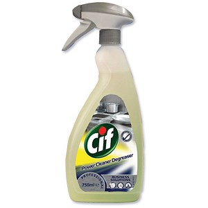 Image of Cif Professional Power Cleaner & Degreaser - 750ml