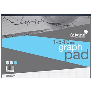 Image of Silvine Student Graph Pad / A3 / 90gsm / 30 Sheets