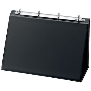 Image of Easel Presenter / Collapsible Flip Over / Landscape / A4 / Black