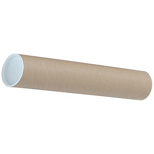 Image of Cardboard Mailing Tubes / A4/A3 / L330xDia.50mm / Pack of 25
