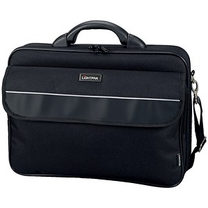 Image of Lightpak Elite Large Laptop Case / 17 inch Capacity / Nylon / Black