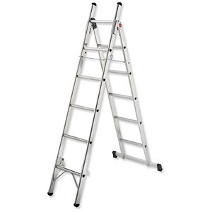 Image of Convertible Household Ladder / 3 Way / 5 Tread / Capacity 150kg