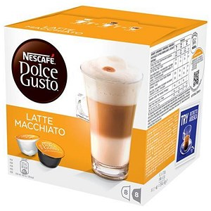 Image of Nescafe Latte for Nescafe Dolce Gusto Machine - 24 Drinks (48 Capsules)