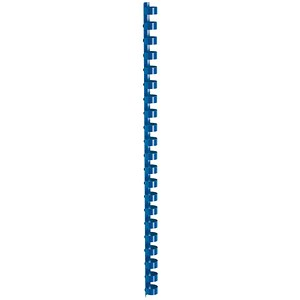 Image of 5 Star Binding Combs / 21 Ring / 12mm / Blue / Pack of 100