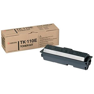 Image of Kyocera TK-110E Black Laser Toner Cartridge