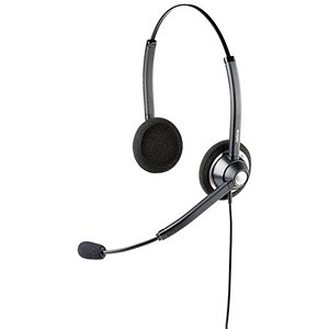 Image of Jabra Biz 1900 Headset Duo Cabled Ref 1519-0154