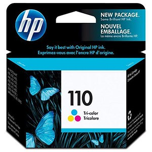 Image of HP 110 Colour Ink Cartridge