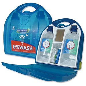 Image of Wallace Cameron Eyewash Dispenser Mezzo Unit - HSE Recommended