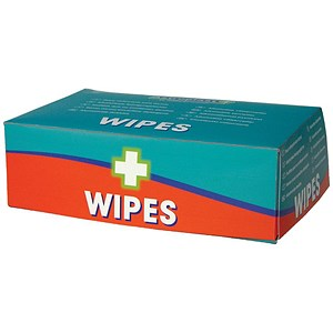 Image of Wallace Cameron Wipes Alcohol Free for all First-Aid Kits Ref 1602014 [Pack 100]