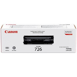 Image of Canon 726 Black Laser Toner Cartridge