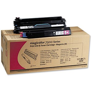 Image of Konica Minolta Magicolour 7300 Magenta Laser Drum Unit
