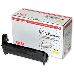 Image of Oki C5450 Yellow Image Drum