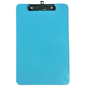 Image of 5 Star Polypropylene Clipboard / Shatterproof / Pink or Green or Turquoise
