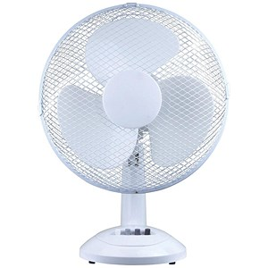 Image of 5 Star Desk Fan / Oscillating / Tilt and Lock / 12""