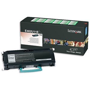 Image of Lexmark E462U11E Extra High Yield Black Laser Toner Cartridge