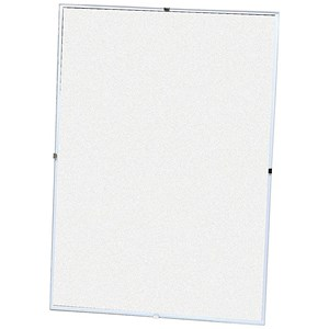 Image of 5 Star Clip Frame Plastic Fronted for Wall-mounting - A4