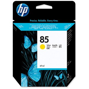 Image of HP 85 Yellow Ink Cartridge