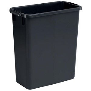 Image of Durable Durabin Slim Bin / 60 Litre / Black