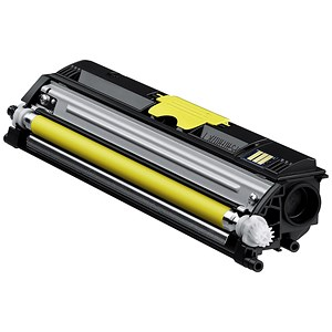 Image of Konica Minolta A0V306H High Capacity Yellow Laser Toner Cartridge