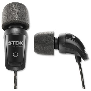 Image of TDK EB900 In-Ear Foam Headphones Ref EB900