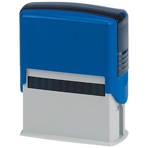 Image of 5 Star Custom Self-Inking Imprinter Stamp - 59x24mm (6 Lines of Text)