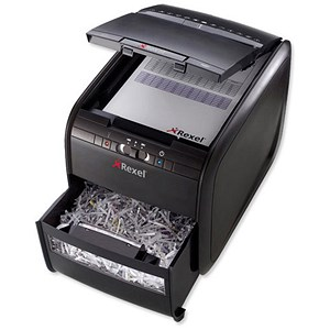 Image of Rexel AutoPlus 60X Shredder Cross-cut P-3 Ref 2103060