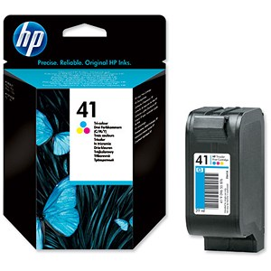 Image of HP 41 Tri-Colour Ink Cartridge