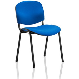 Image of Trexus Stacking Chair - Blue