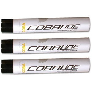 Image of Cobaline Marking Spray CFC-free Fast-dry 750ml Black Ref QLL00001P [Pack 6]