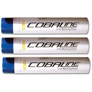 Image of Cobaline Marking Spray CFC-free Fast-dry 750ml Blue Ref QLL00002P [Pack 6]