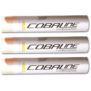 Image of Cobaline Marking Spray CFC-free Fast-dry 750ml White Ref QLL00013P [Pack 6]