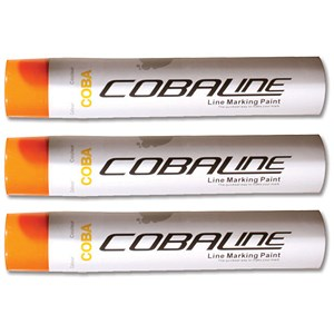 Image of Cobaline Marking Spray CFC-free Fast-dry 750ml Orange Ref QLL00017P [Pack 6]