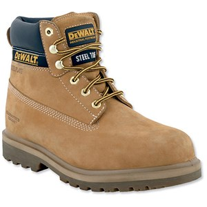 Image of Dewalt Safety Boots / Size 10 / Wheat
